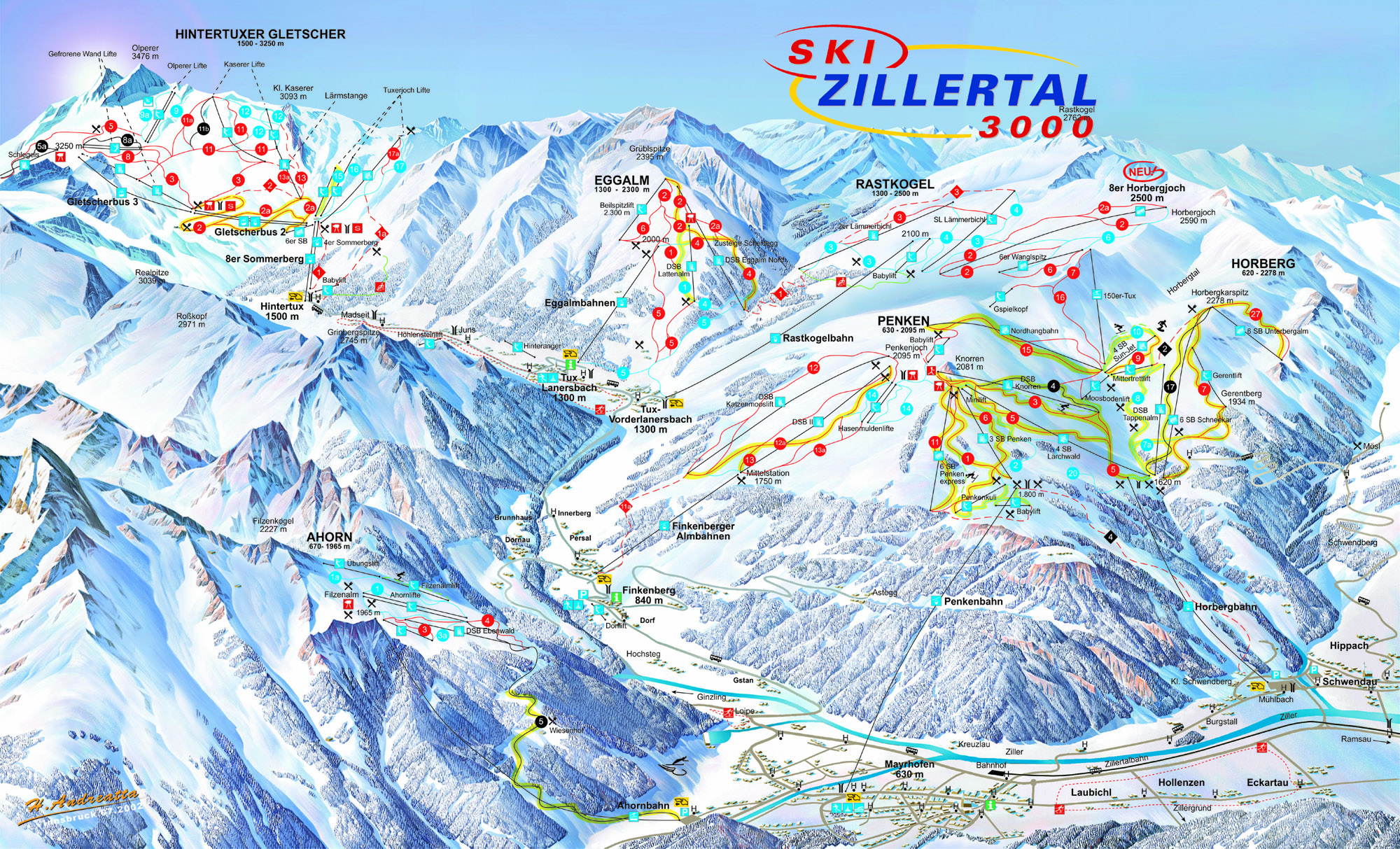 Mayrhofen ZillertalTirol Austria Resort review